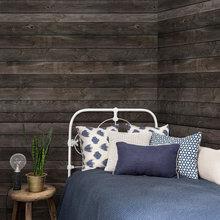 Vovede vægge: Indret med vandrette træplanker