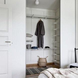 Aménagement d'une chambre scandinave.