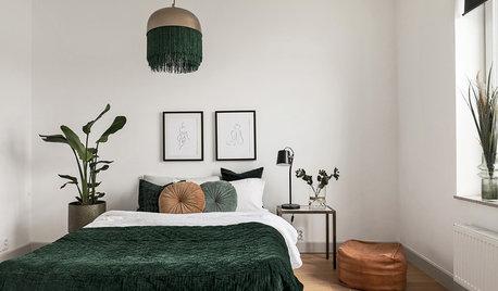 Просто фото: 20 спален, где светильник — главный герой
