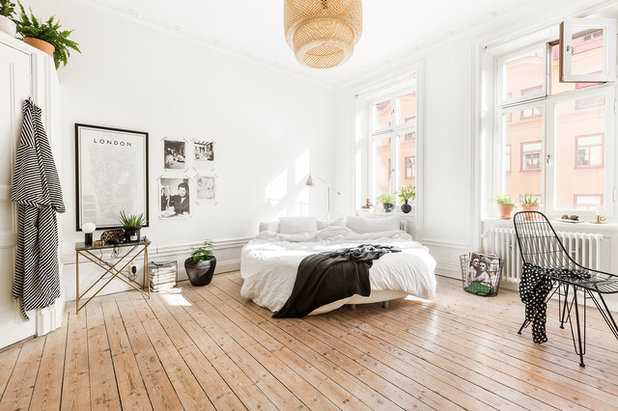 Scandinave Chambre by Myrica Bergqvist Interior Stylist/Decorator