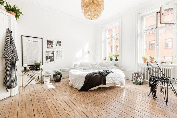 Skandinavisch Schlafzimmer by Myrica Bergqvist Interior Stylist/Decorator