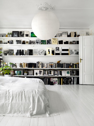 Scandinavian Bedroom by Photographer Idha Lindhag