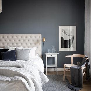 Inredning av ett modernt sovrum
