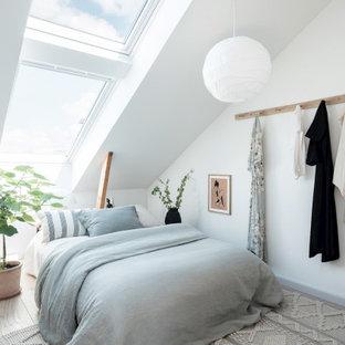 Exempel på ett minimalistiskt sovrum