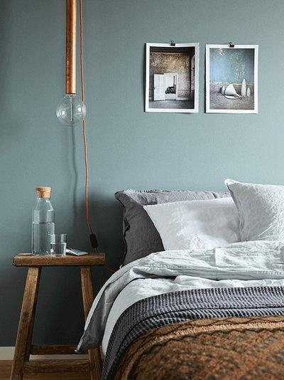 ラスティック 寝室 by Loft Stockholm