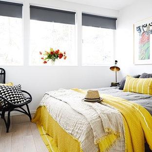 Idées déco pour une chambre moderne.