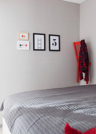 Современный Спальня by Студия Волковых