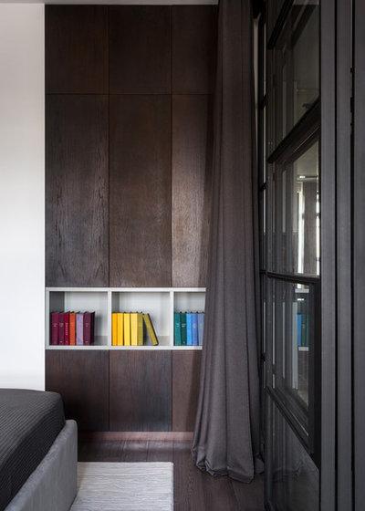 Современный Спальня by OM DESIGN