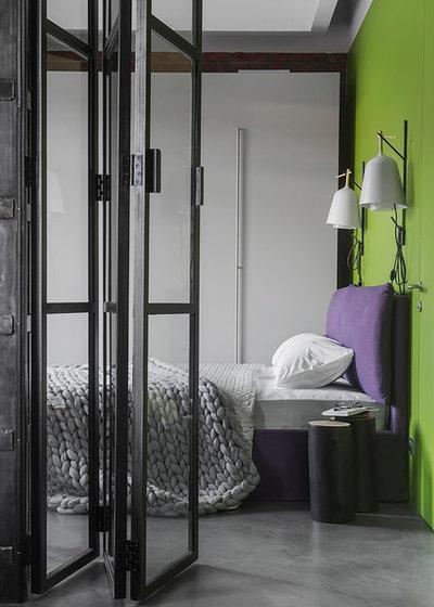 Industrial Bedroom by PROforma проектная группа