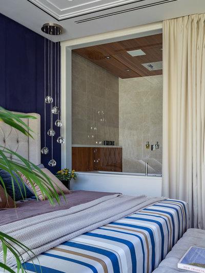 Современный Спальня by Студия дизайна интерьеров Алексея Стрелюка