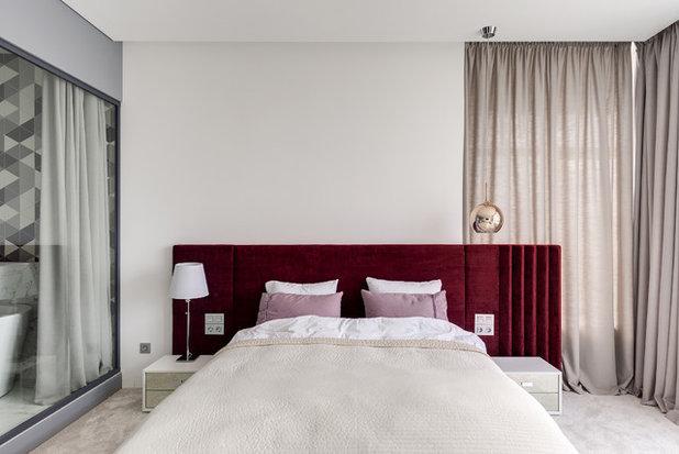 Современный Спальня by Nika Vorotyntseva design & architecture bureau