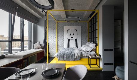 Как сделать: Зонирование комнаты на спальню и гостиную