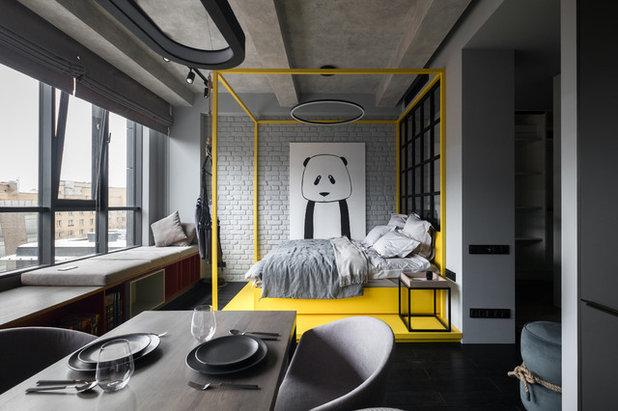 Современный Спальня by CARTELLE DESIGN