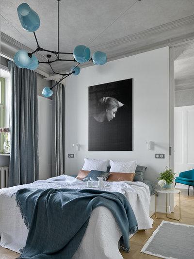 Современный Спальня by Мастерская Елены Горенштейн