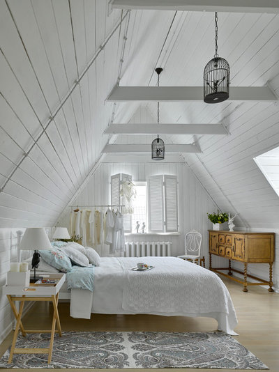 Shabby-Chic Style Bedroom by Lavka-Design