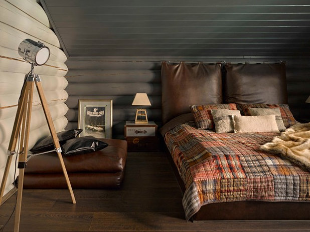Rustic Bedroom by Lavka-Design