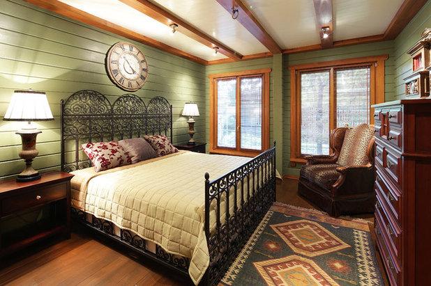 Country Bedroom by ПАЛЕКС дома из клееного бруса
