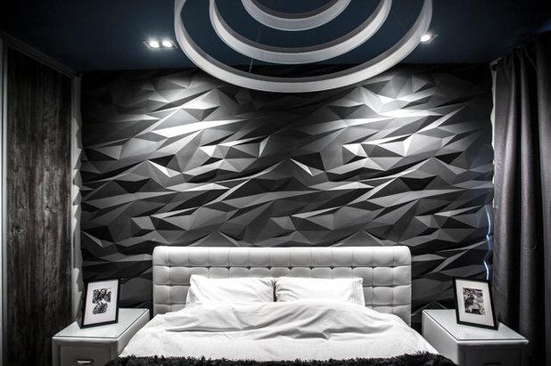 Современный Спальня by Студия дизайна Four rooms