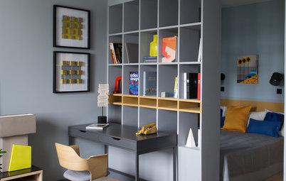Что лучше: Стены или стеллажи для зонирования комнаты?