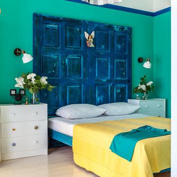 Дизайн-отель Blaga Dom Зеленый номер