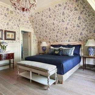 Свежая идея для дизайна: спальня в классическом стиле - отличное фото интерьера