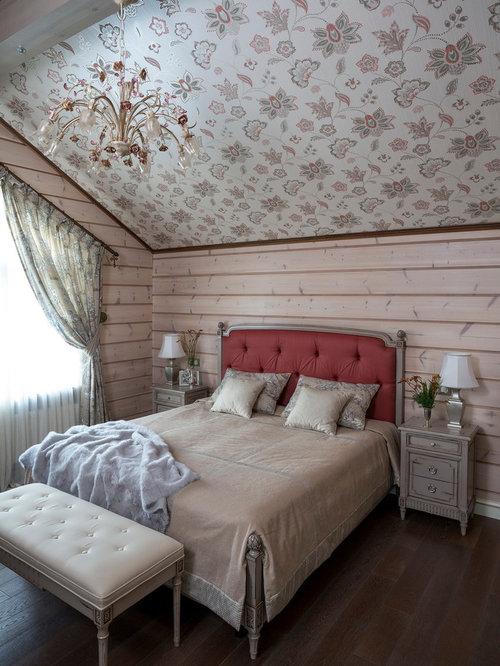 Country bedroom design ideas renovations photos - Houzz dormitorios ...
