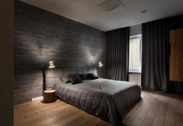 Современный Спальня by Yakusha Design