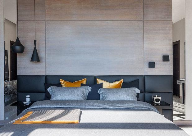 Современный Спальня by Архитектурное бюро AMG-project