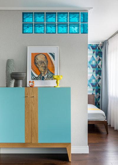 Современный Спальня by Мария Безрукова