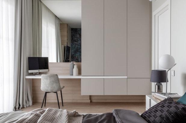 Современный Спальня by Архитектурная студия Astar project