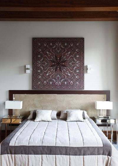 Современный Спальня by Архитектурная мастерская Акант