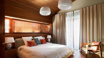 Дом в Подмосковье: спальня