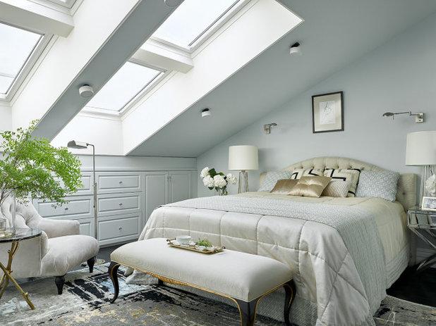 Неоклассика Спальня by Инна Зольтманн | Дизайн и Декорирование интерьеров