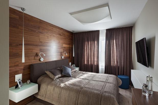 Современный Спальня by Марина Семенова