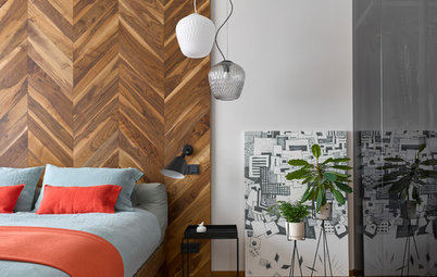 Moscow Houzz Tour: Pattern Play and Materials in a Maverick Home