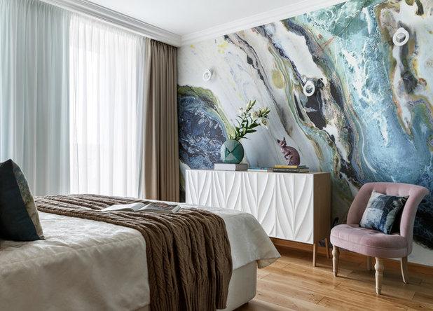 Современный Спальня by KLЯksa-design