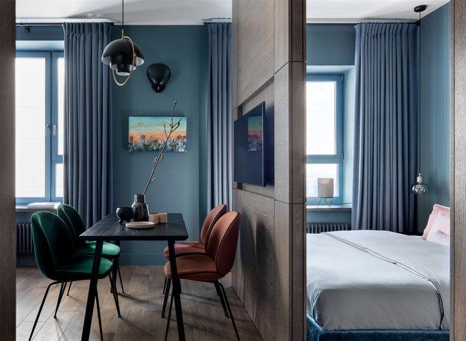 Contemporary Bedroom by Дизайн-бюро Татьяны Алениной