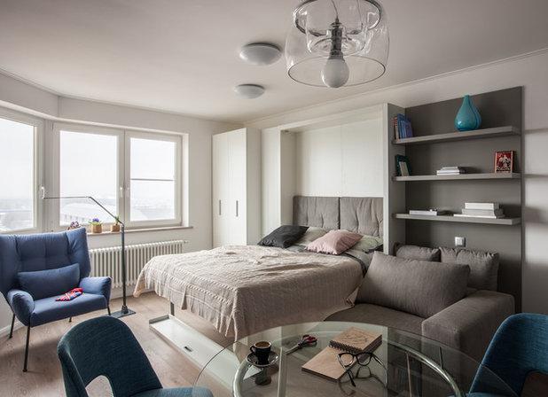 Современный Спальня by Точка дизайна