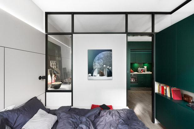 Современный Спальня by Творческая мастерская Fateeva Design