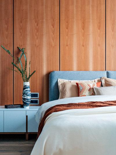 Современный Спальня by GAFA Architects