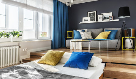 Moscow Houzz Tour: A Small Studio That Sleeps Four