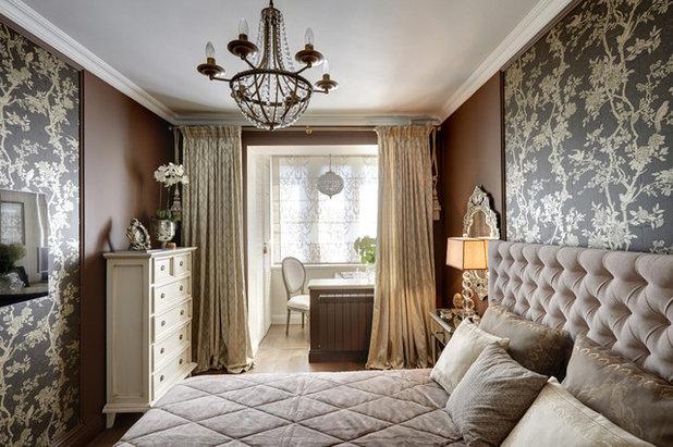 Классический Спальня by Мастерская дизайна интерьера Анны Першаковой