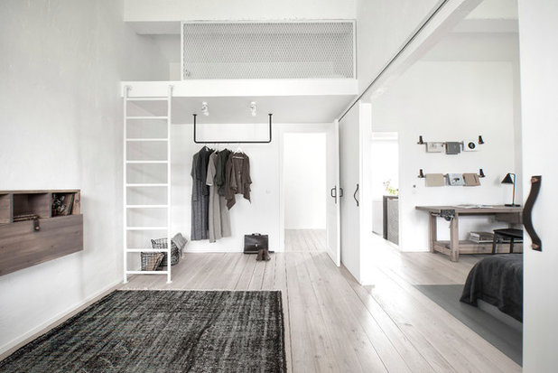 Industrial Bedroom by INT2architecture