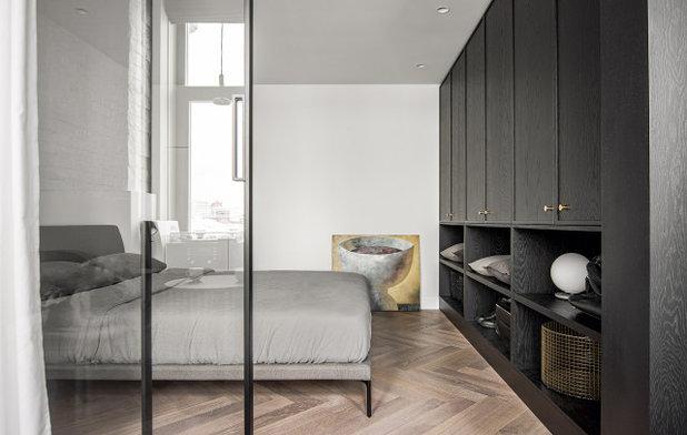 Современный Спальня by INT2architecture