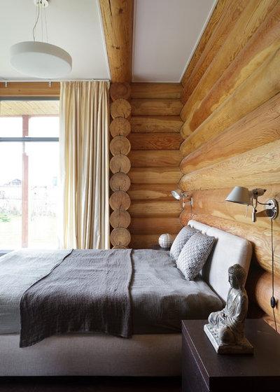 Спальня by Архитектурное бюро LOFTING