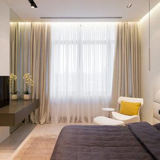 Свежая идея для дизайна: гостевая спальня в современном стиле - отличное фото интерьера
