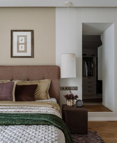Современный Спальня by LevelHouse