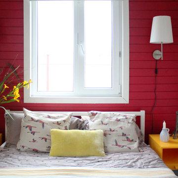 Интерьер летнего дома в Подмосковье со средиземноморским настроением