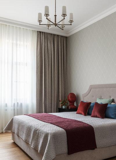 Современная классика Спальня by StudioMR