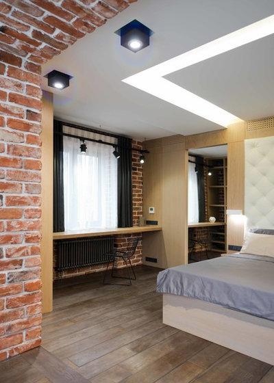 Современный Спальня by Architectural bureau MODUL